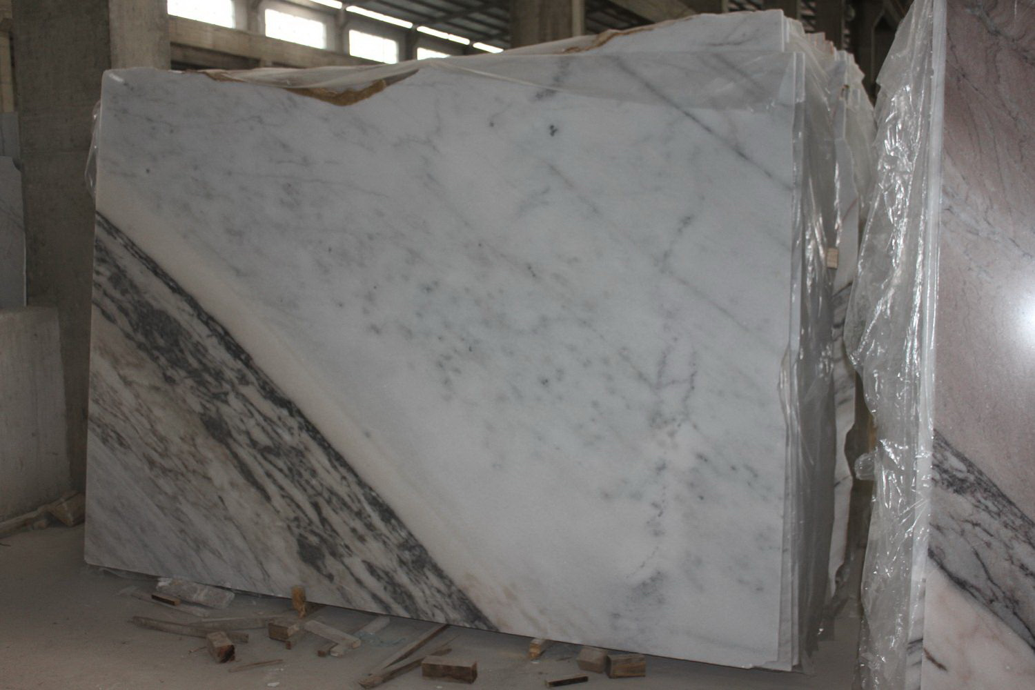 Guangxi White Marble(Fanstastic) (2)