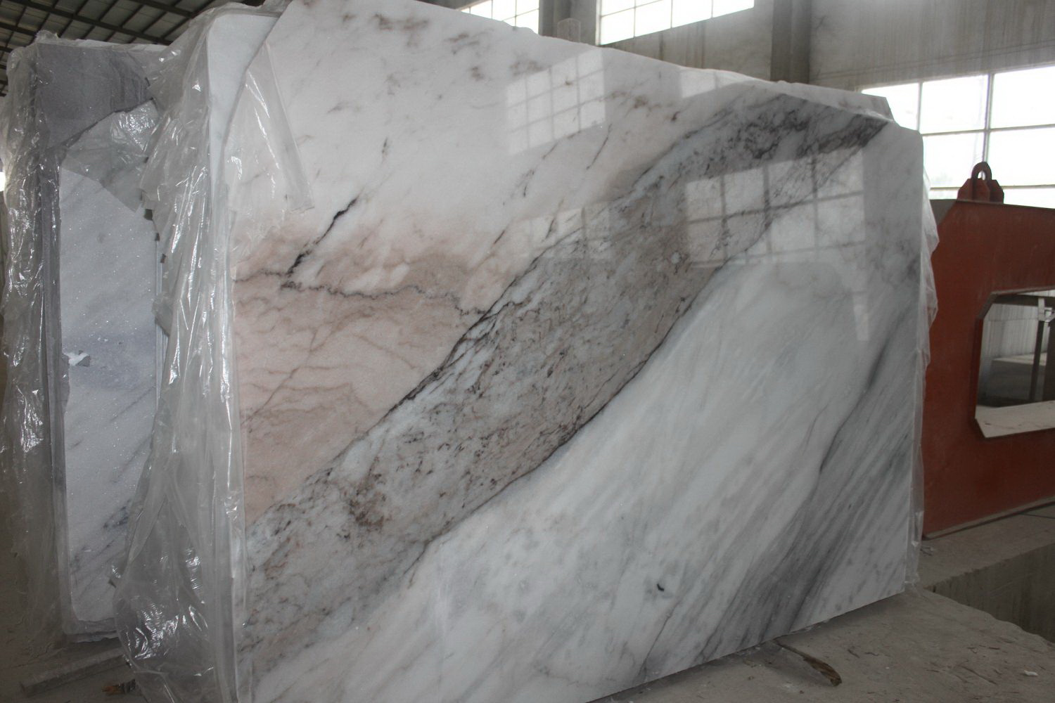 Guangxi White Marble(Fanstastic) (3)