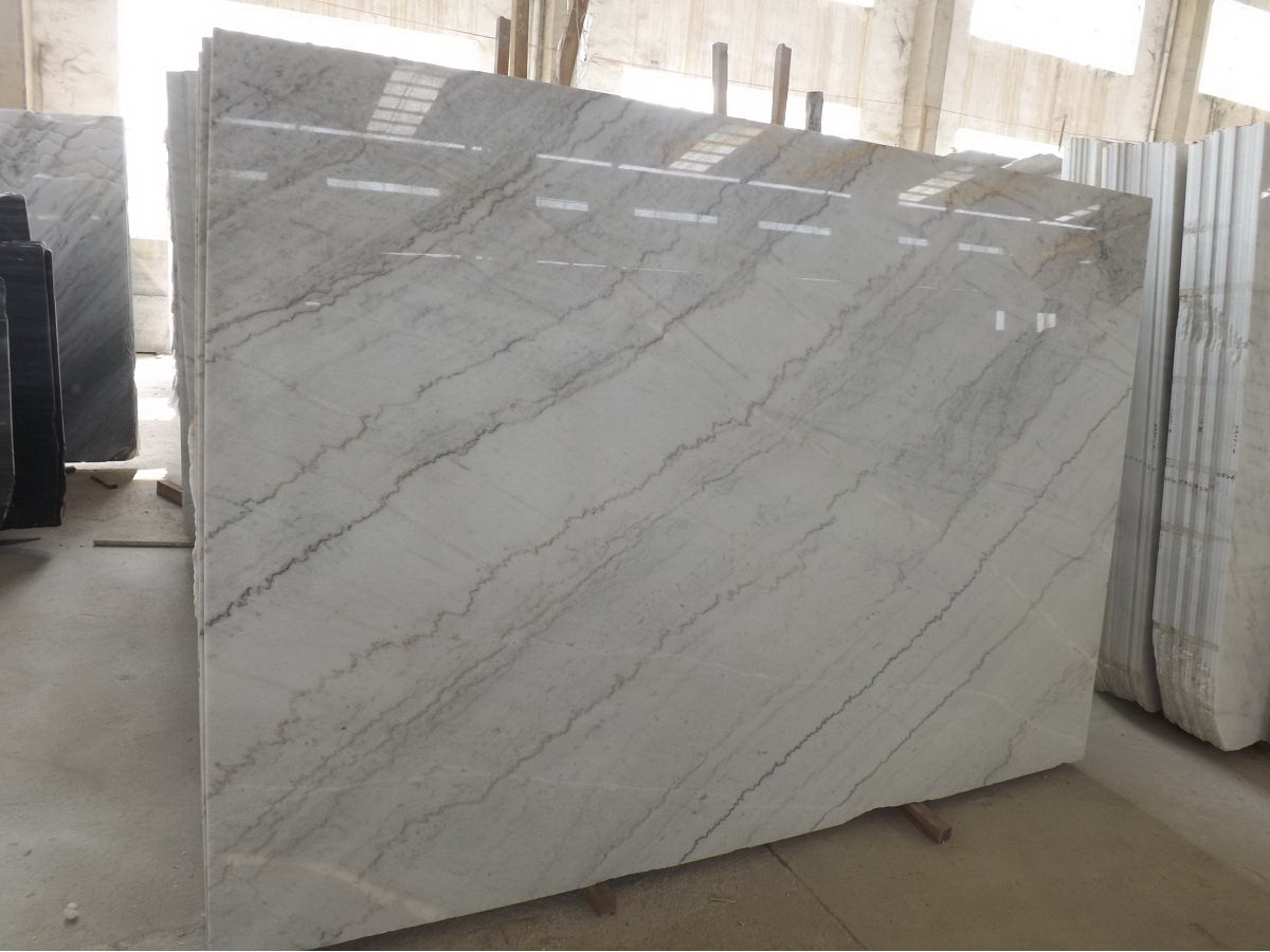 Guangxi White Marble-Arabescato  (4)