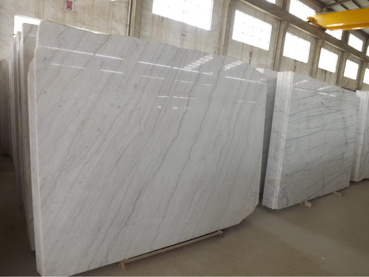 Guangxi White Marble-Arabescato  (5)