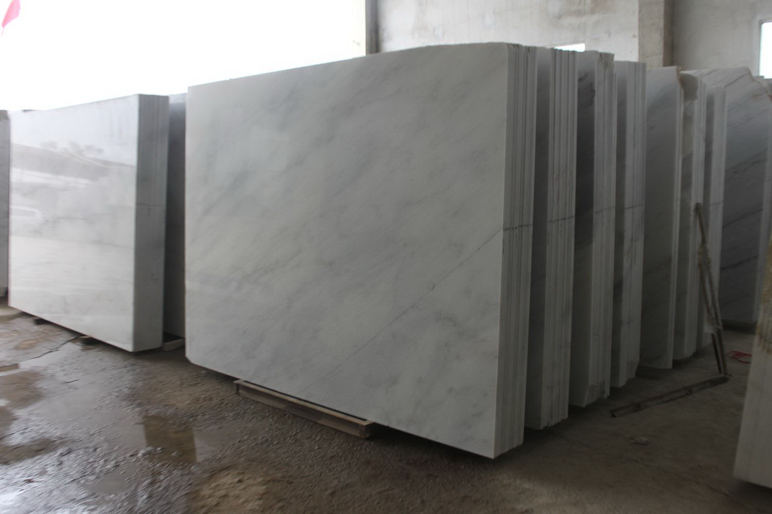 Guangxi White Marble-Arabescato  (2)