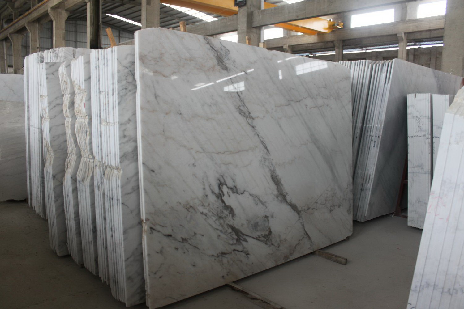 Guangxi White Marble-Arabescato  (7)
