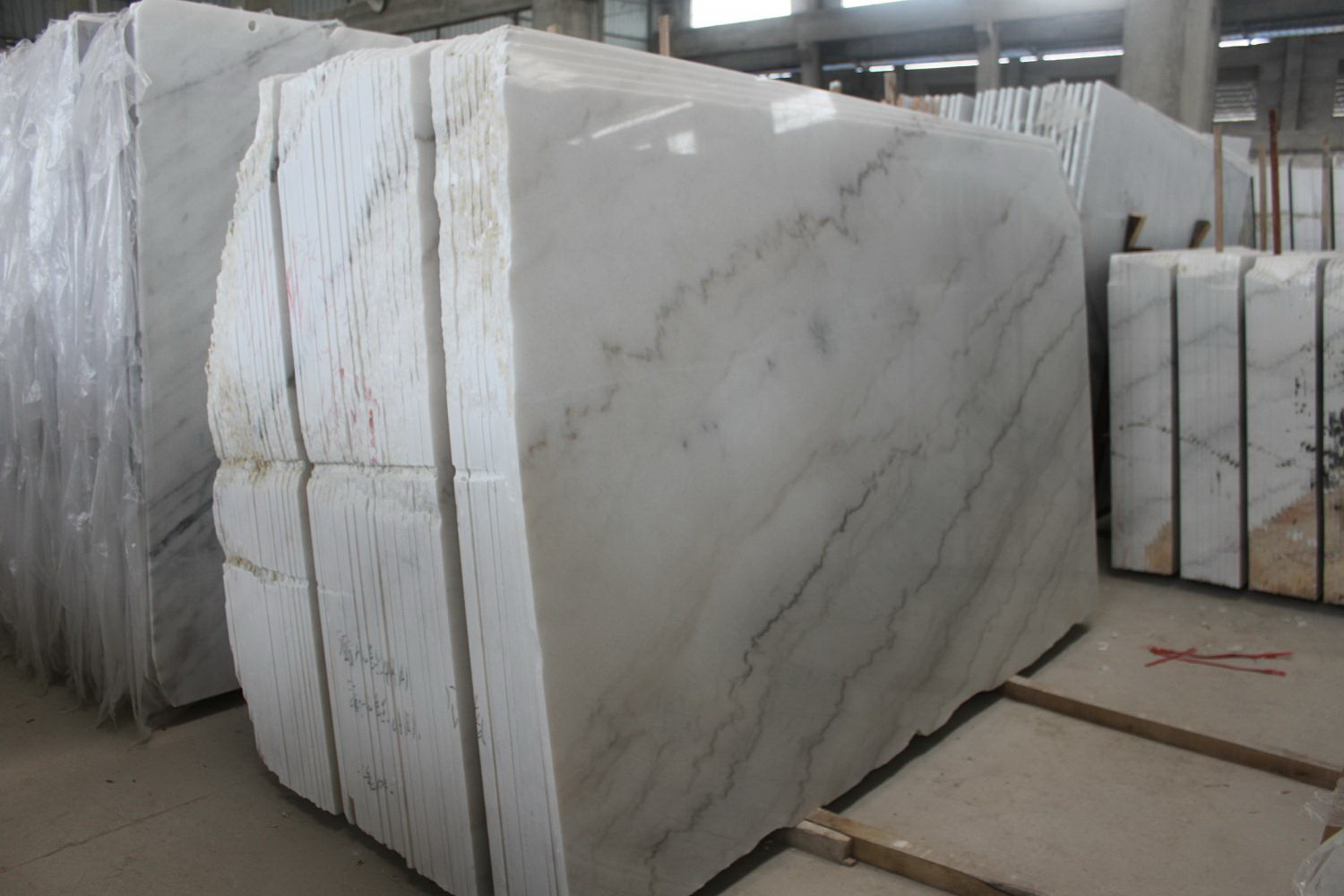 Guangxi White Marble-Arabescato  (8)