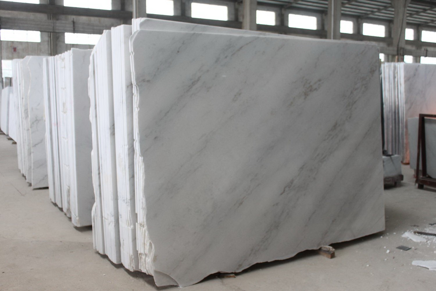 Guangxi White Marble-Arabescato  (12)