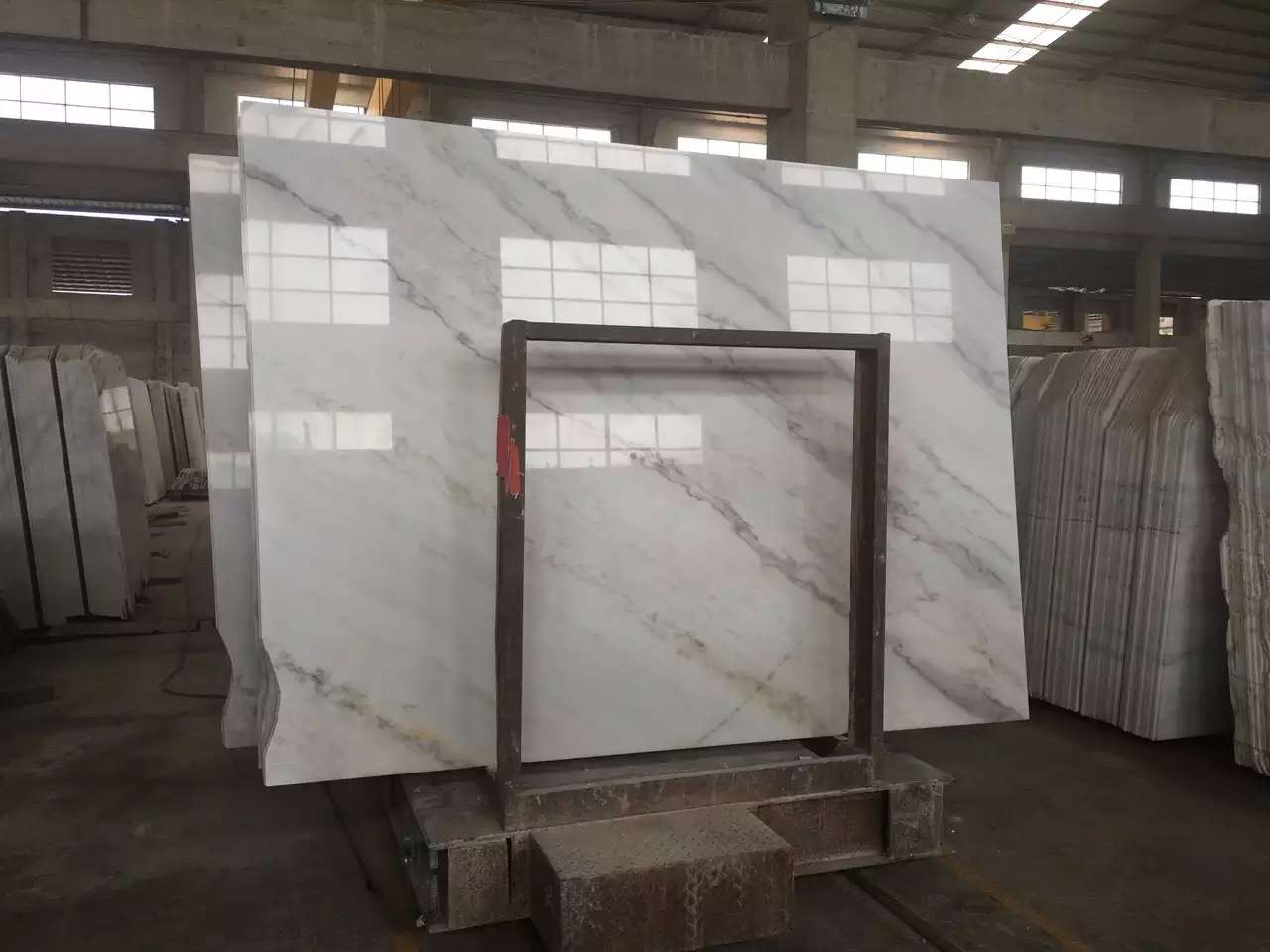 Guangxi White Marble-Arabescato  (13)