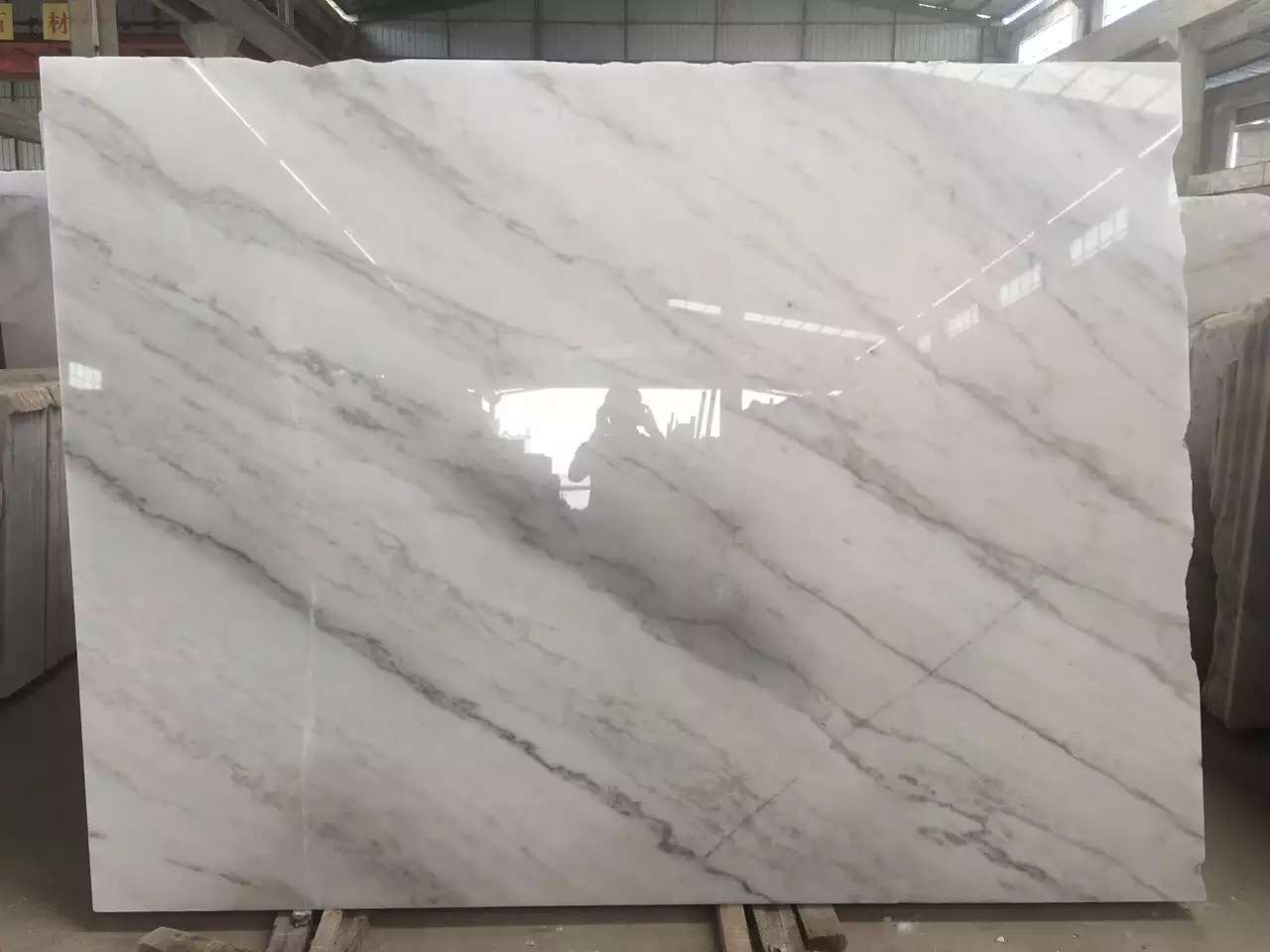 Guangxi White Marble-Arabescato  (14)