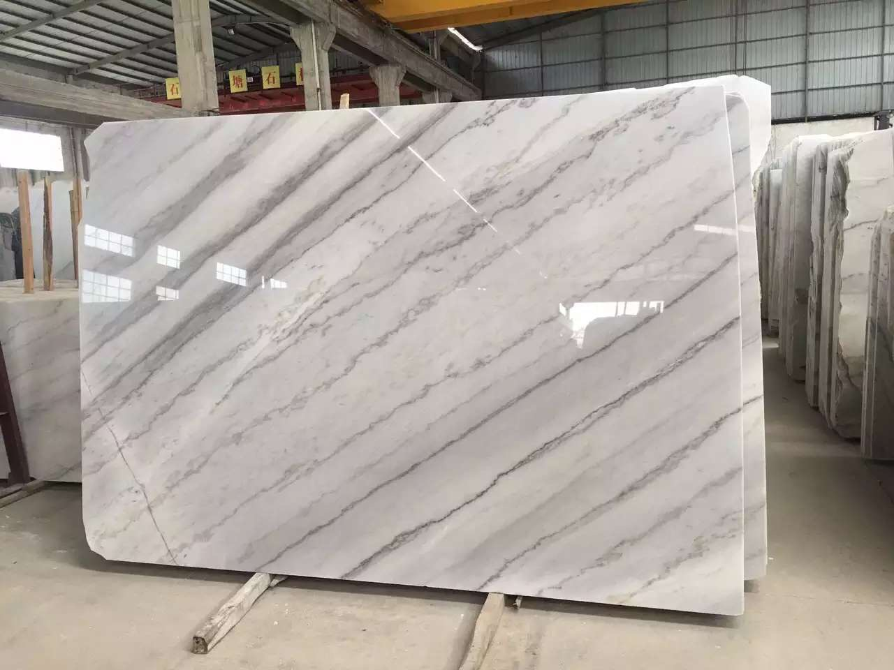 Guangxi White Marble-Arabescato  (15)