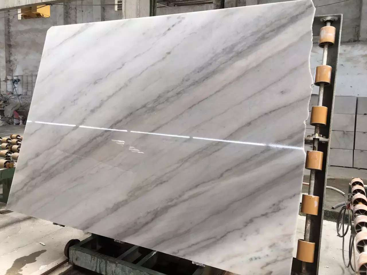 Guangxi White Marble-Arabescato  (16)