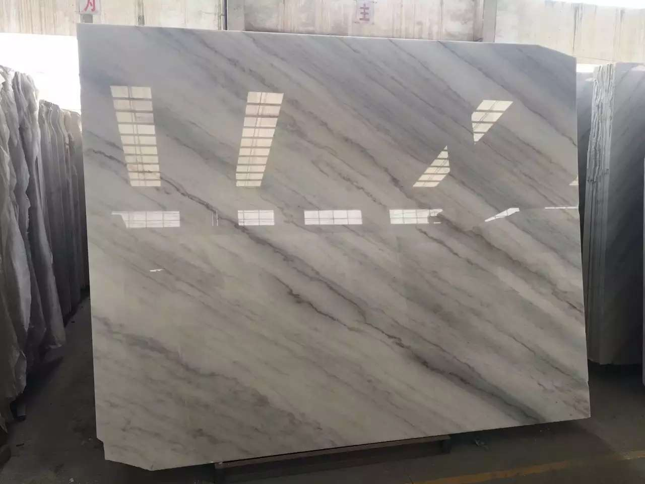 Guangxi White Marble-Arabescato  (17)
