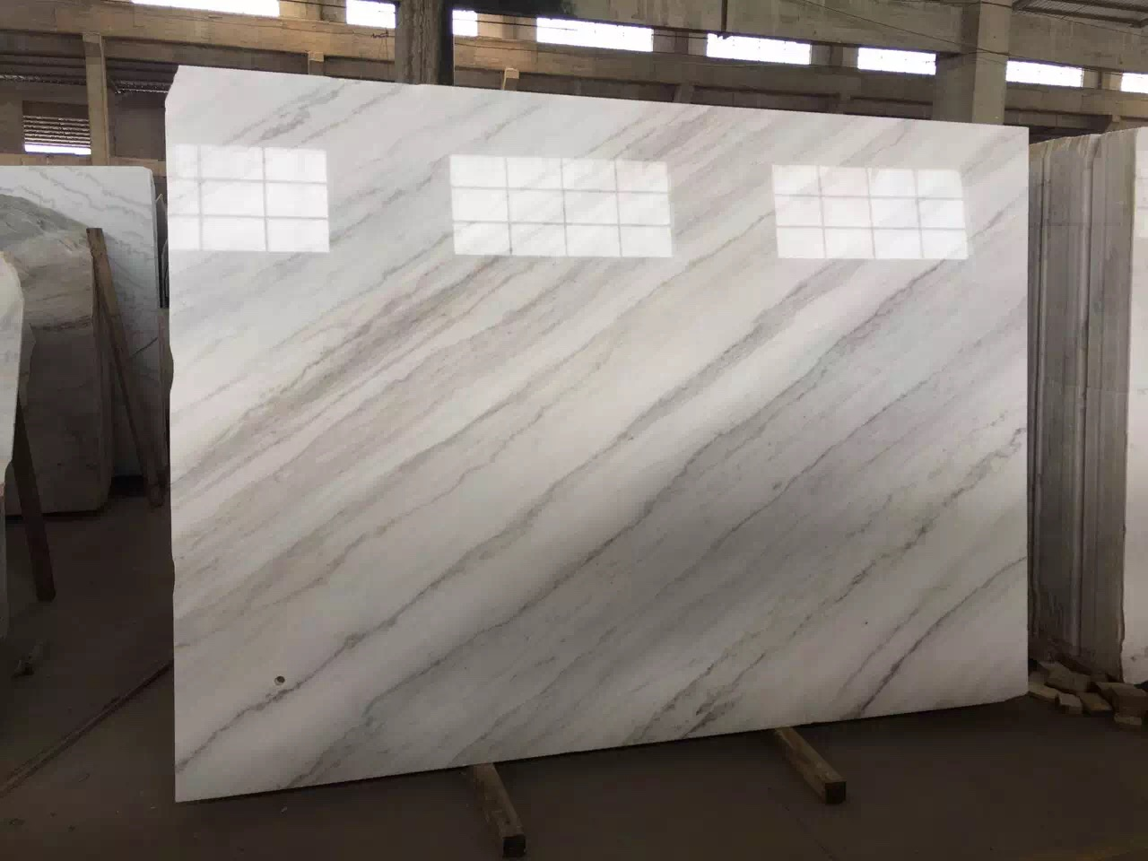Guangxi White Marble-Arabescato  (25)
