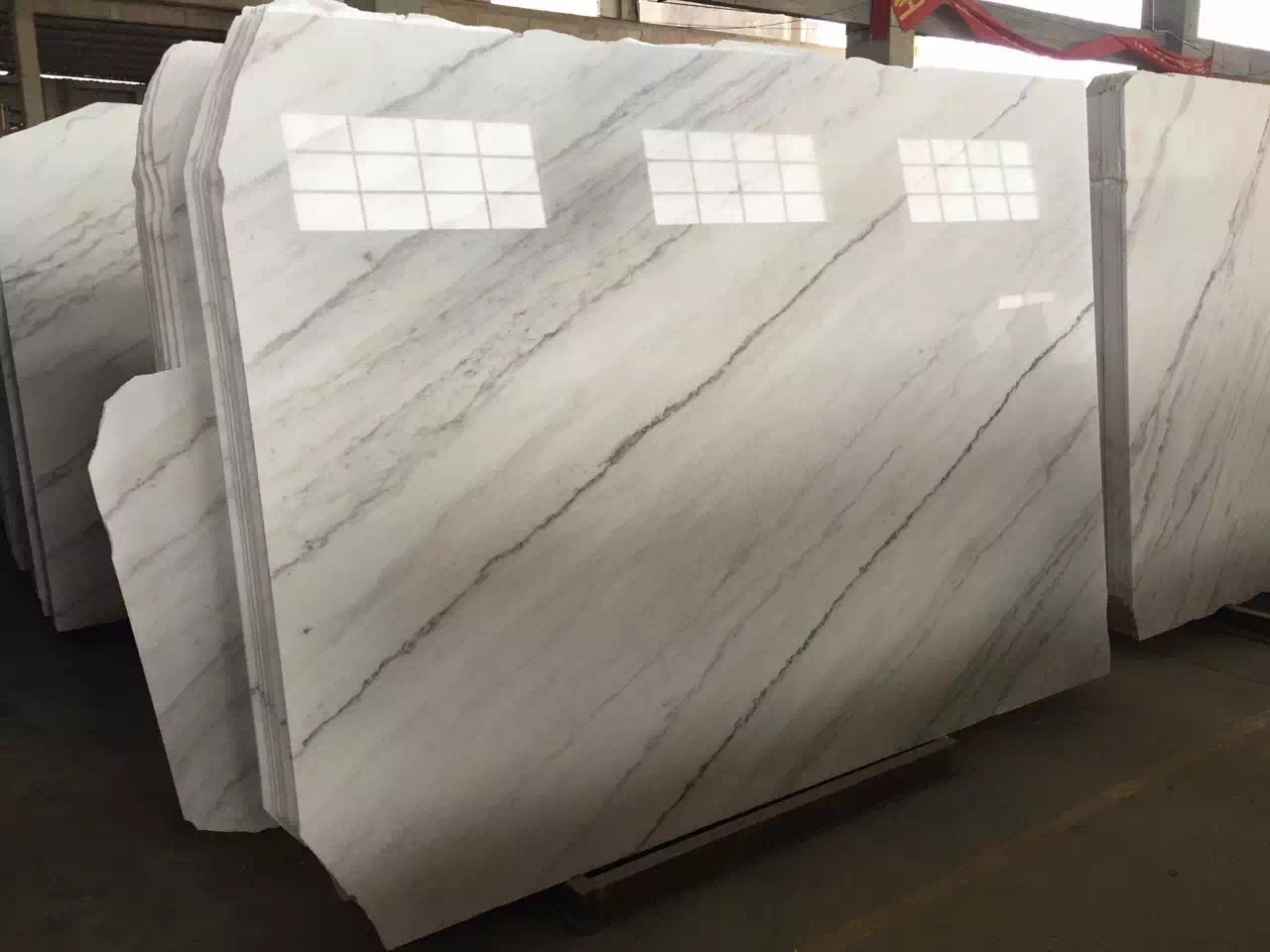 Guangxi White Marble-Arabescato  (26)
