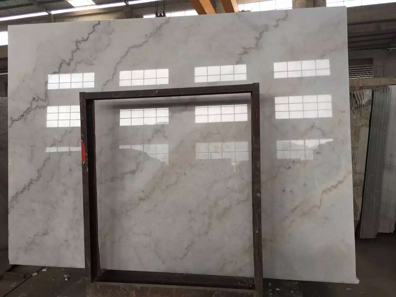 Guangxi White Marble-Arabescato  (18)