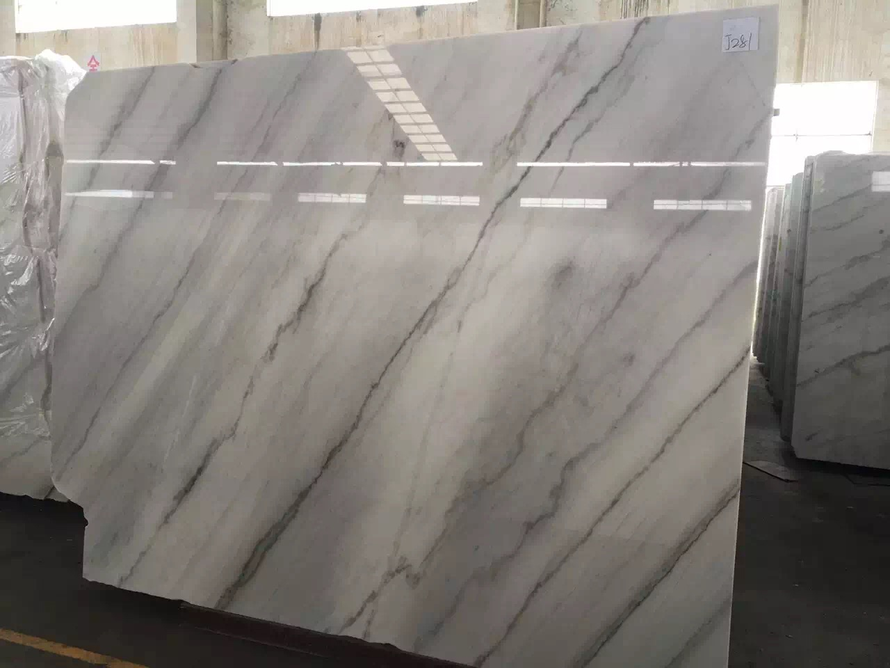Guangxi White Marble-Arabescato  (19)