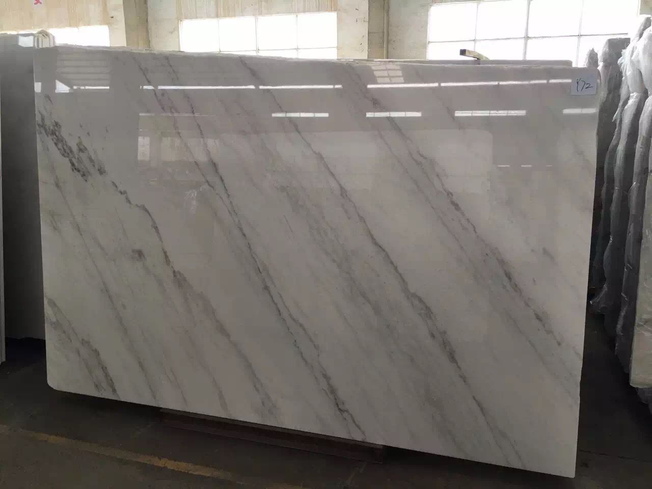 Guangxi White Marble-Arabescato  (20)