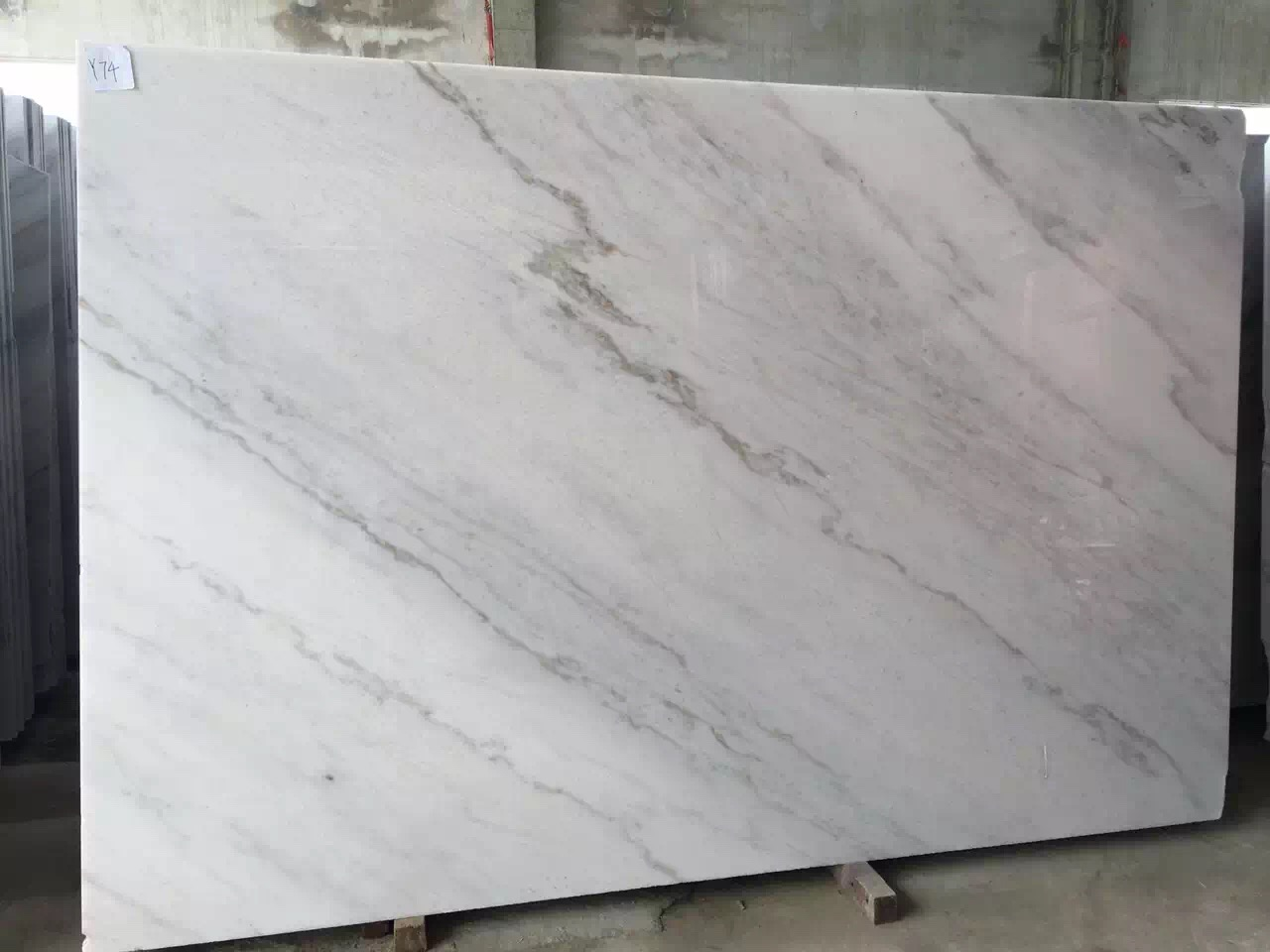 Guangxi White Marble-Arabescato  (21)