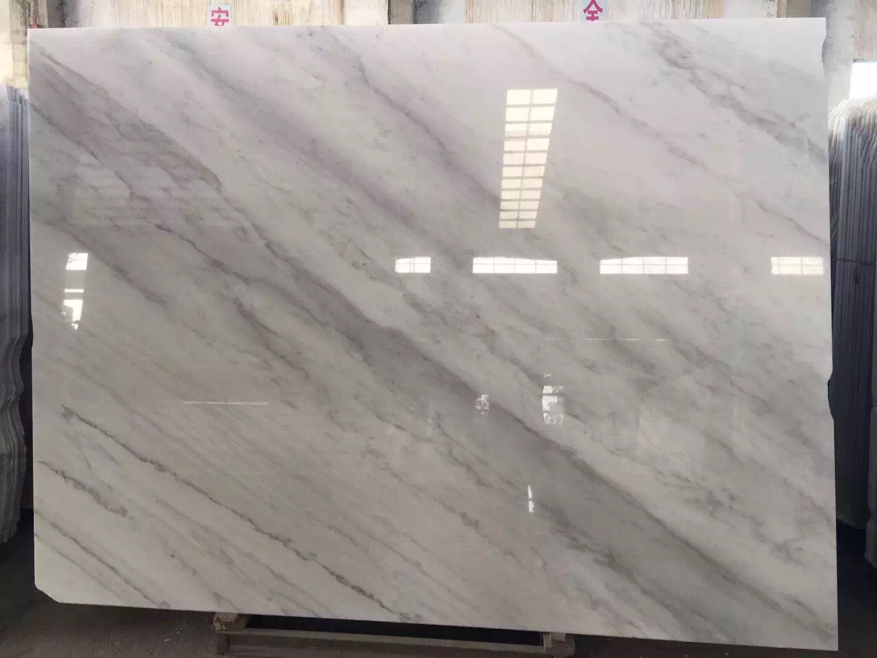 Guangxi White Marble-Arabescato  (22)