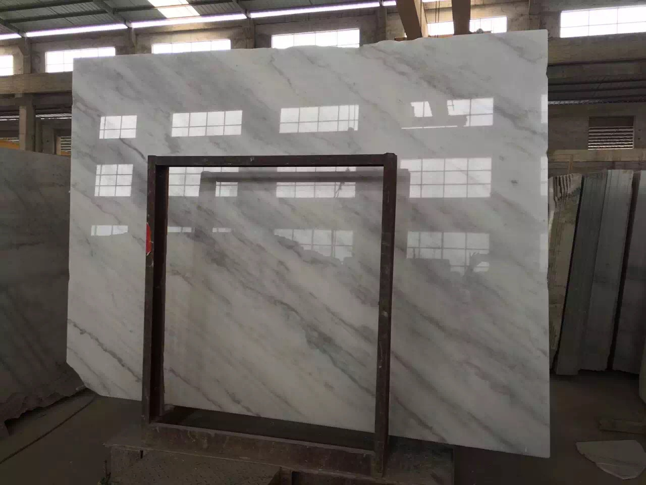 Guangxi White Marble-Arabescato  (24)