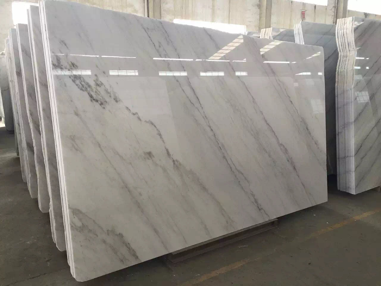 Guangxi White Marble-Arabescato  (27)