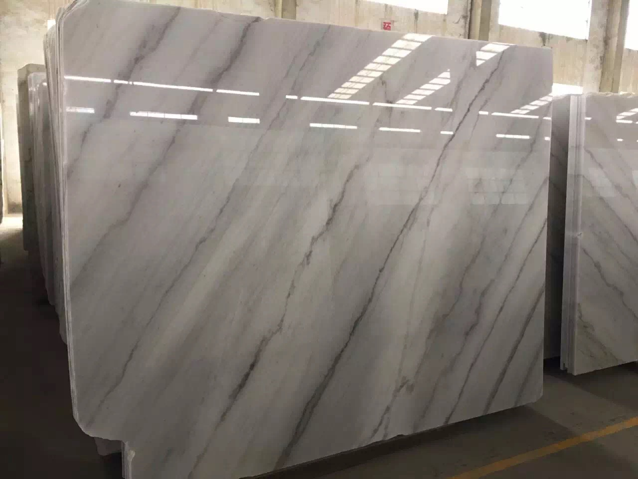 Guangxi White Marble-Arabescato  (29)