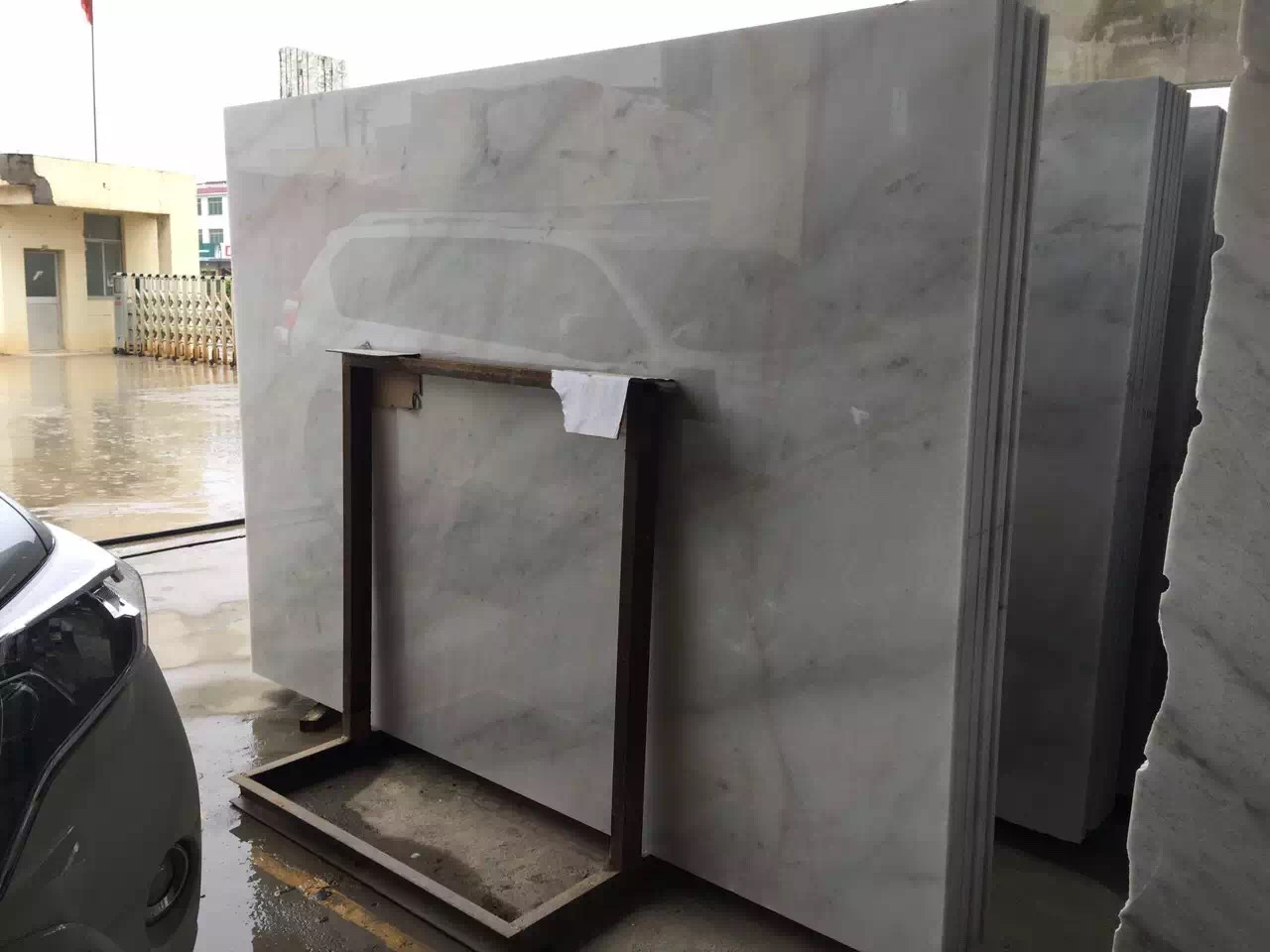 Guangxi White Marble-Arabescato  (32)