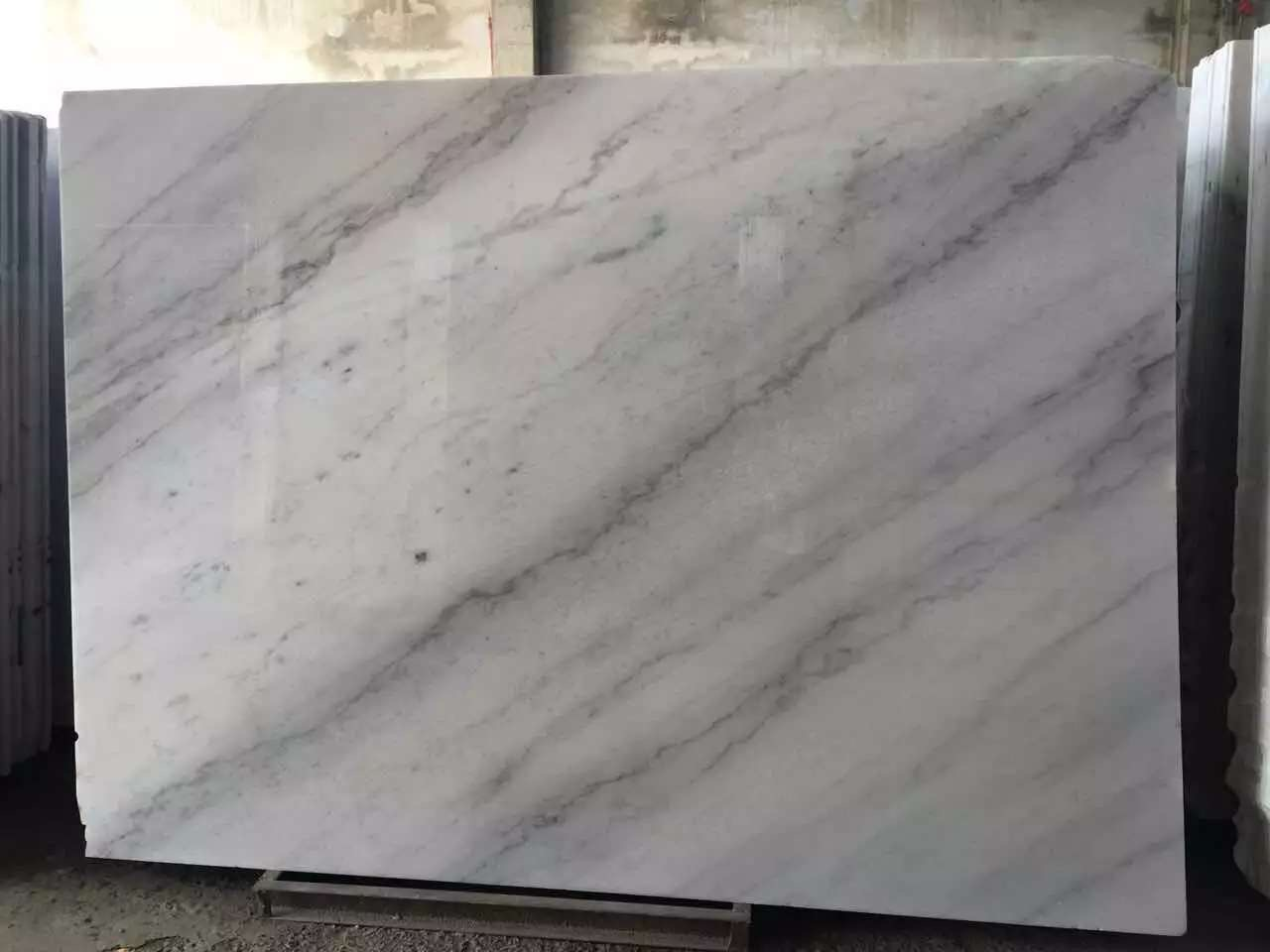 Guangxi White Marble-Arabescato  (33)