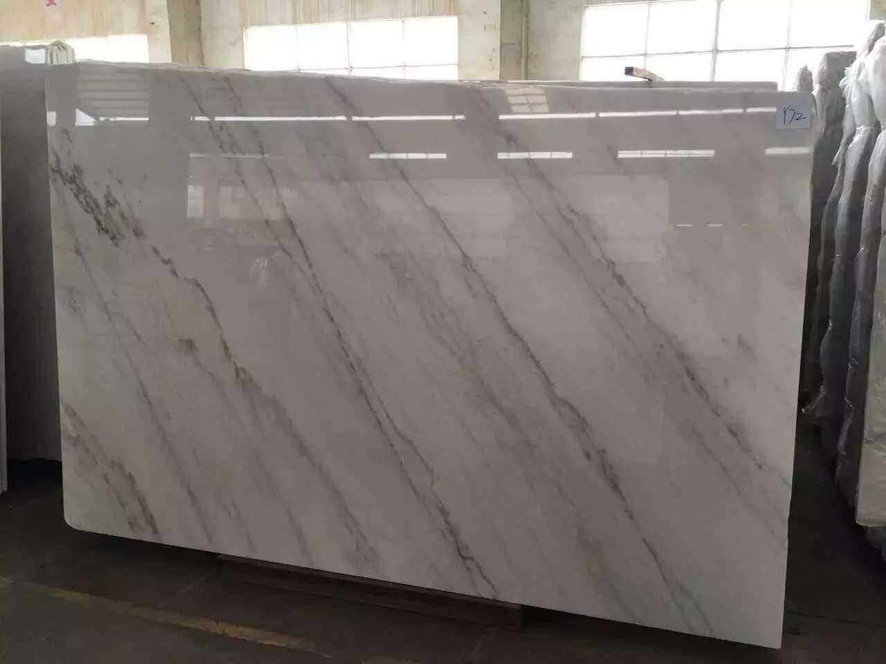 Guangxi White Marble-Arabescato  (35)