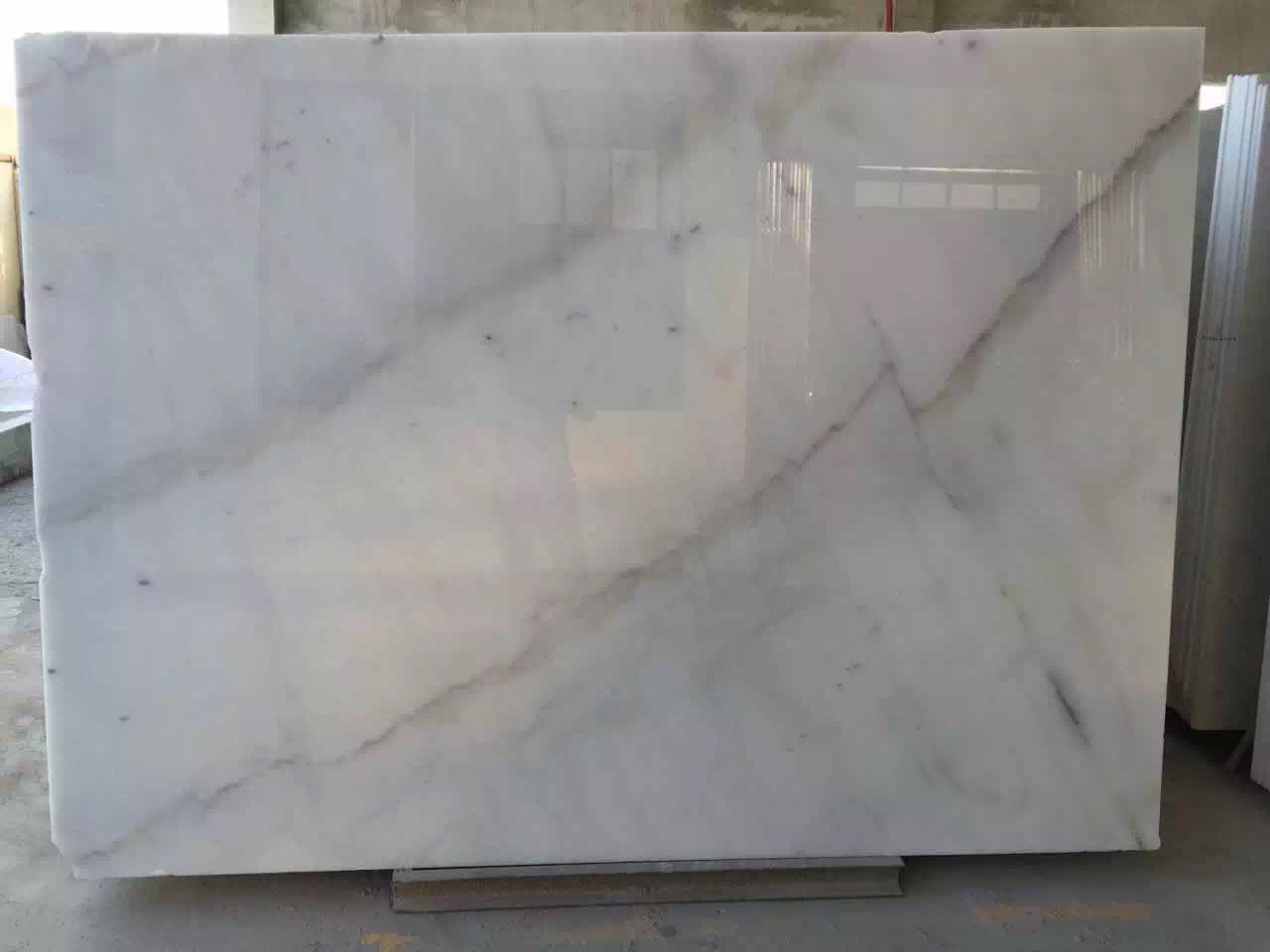 Guangxi White Marble-Arabescato  (37)