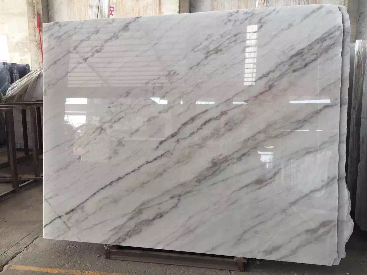 Guangxi White Marble-Arabescato  (38)