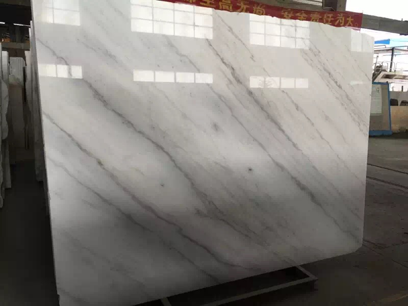 Guangxi White Marble-Arabescato  (40)