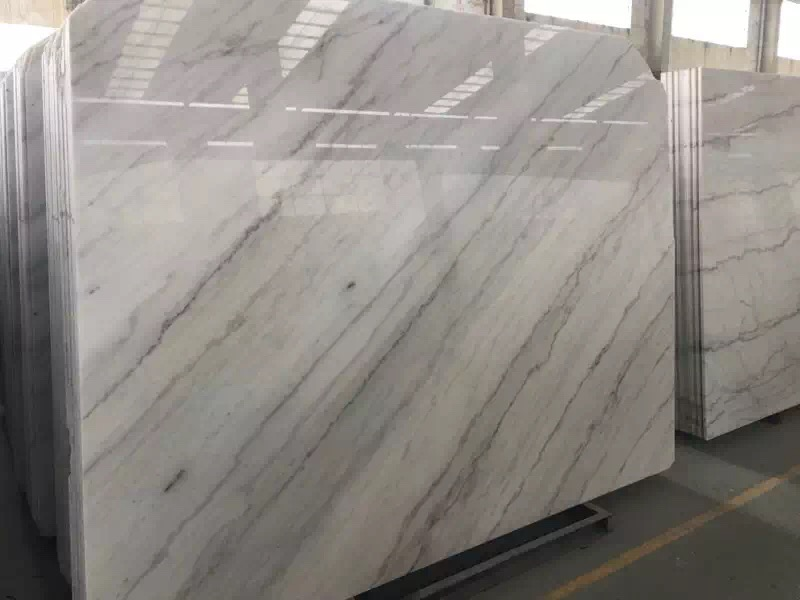 Guangxi White Marble-Arabescato  (41)