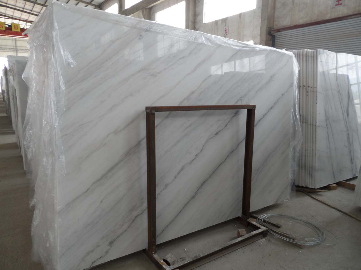 Guangxi White Marble-Arabescato  (42)
