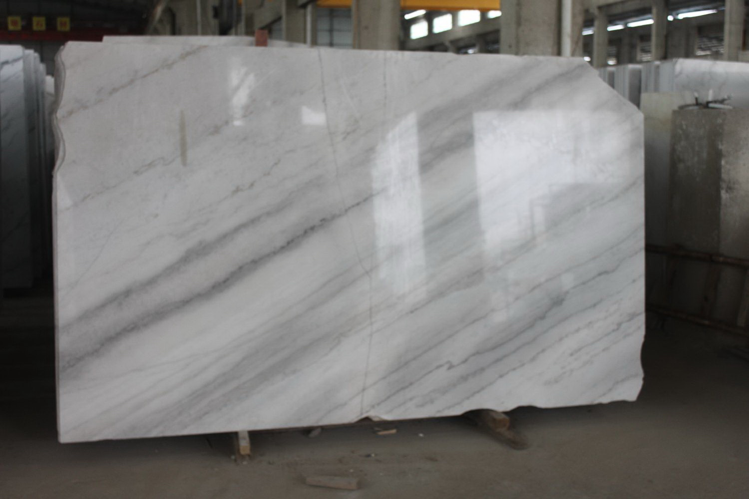 Guangxi White Marble-Arabescato  (43)