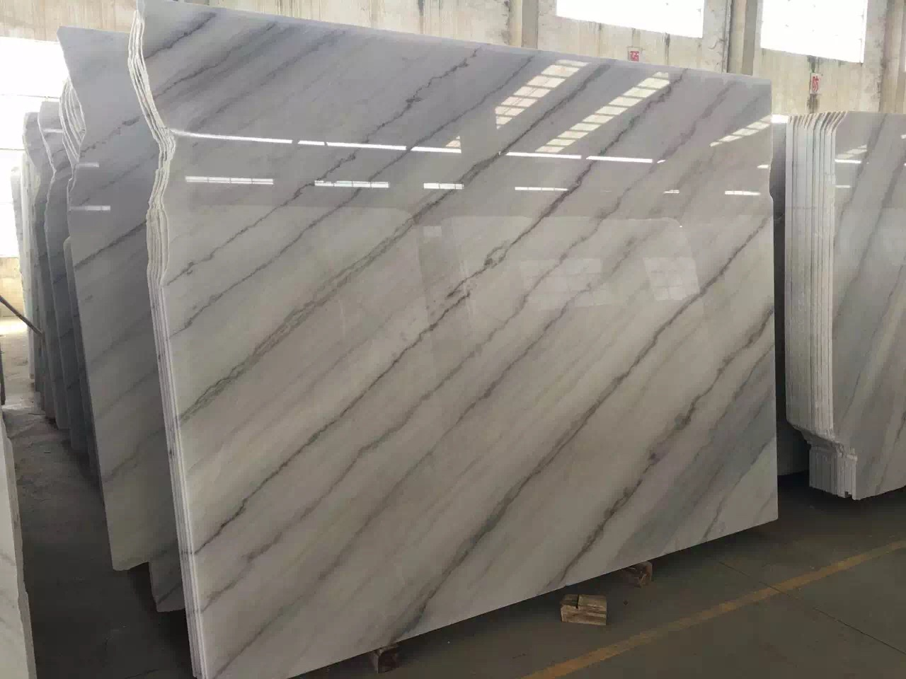 Guangxi White Marble-Arabescato  (51)