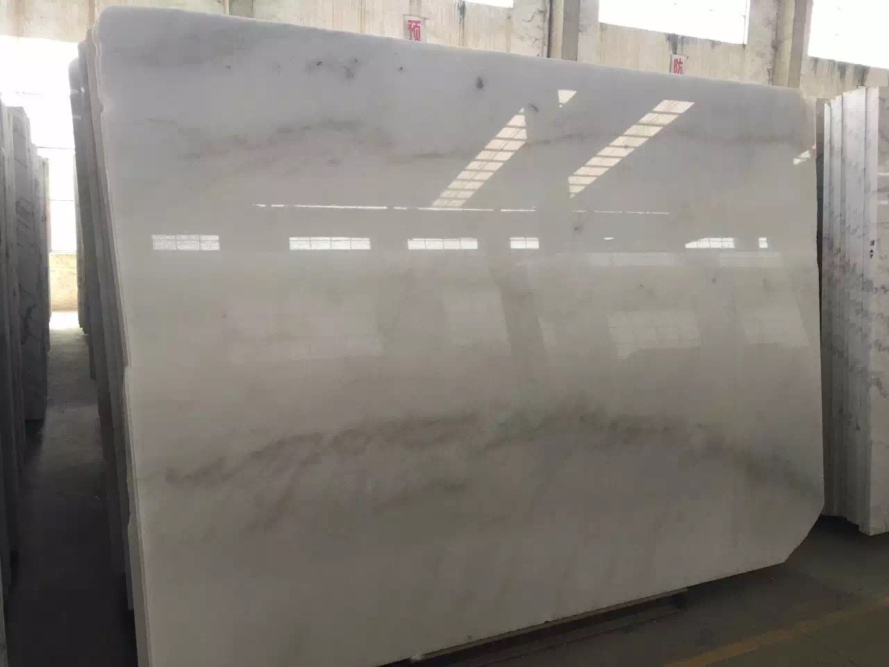 Guangxi White Marble-Arabescato  (52)