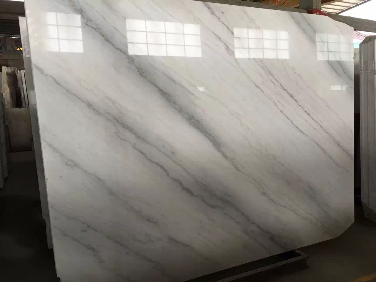 Guangxi White Marble-Arabescato  (53)