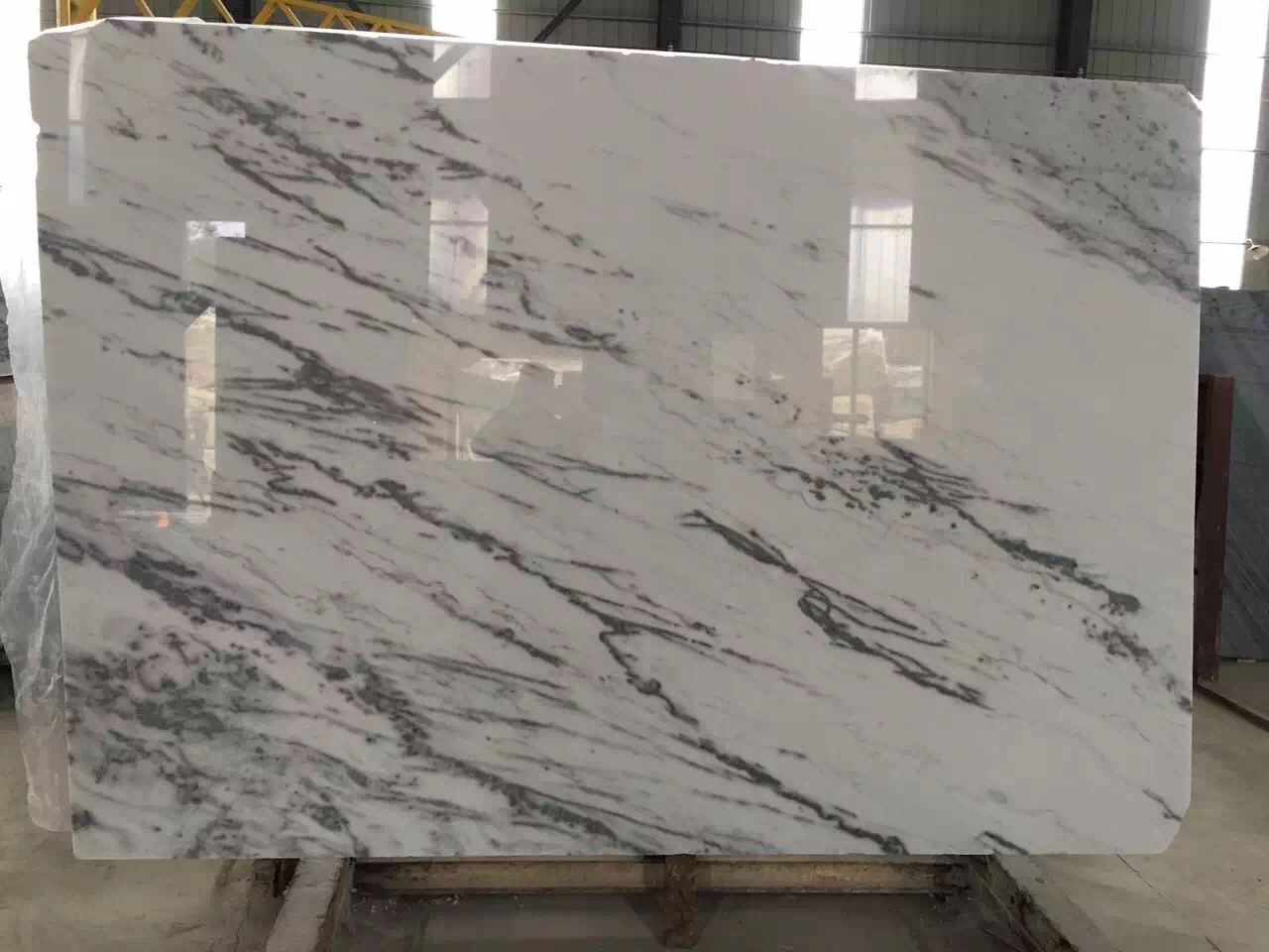 Guangxi White Marble-Arabescato  (54)
