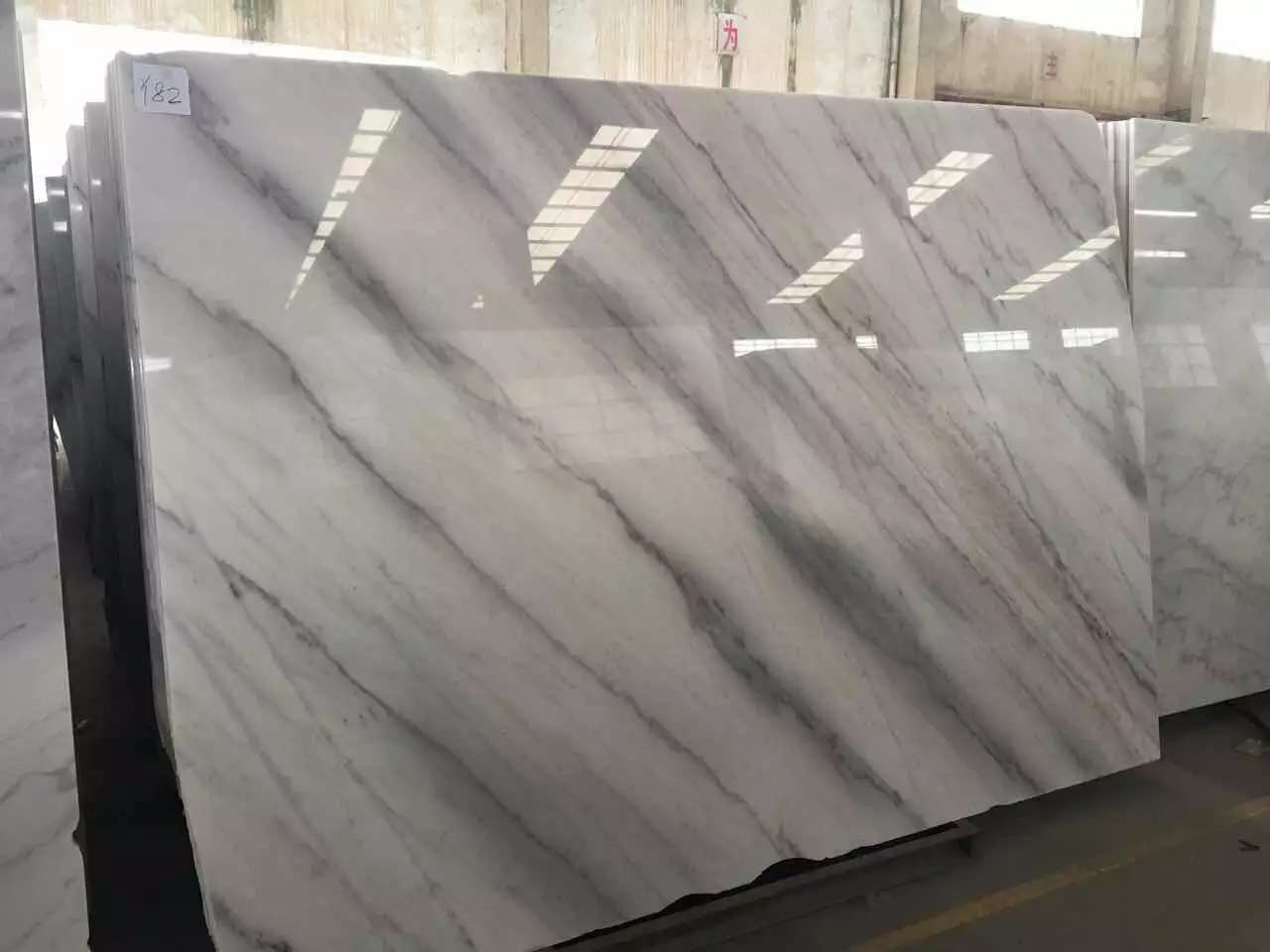 Guangxi White Marble-Arabescato  (55)