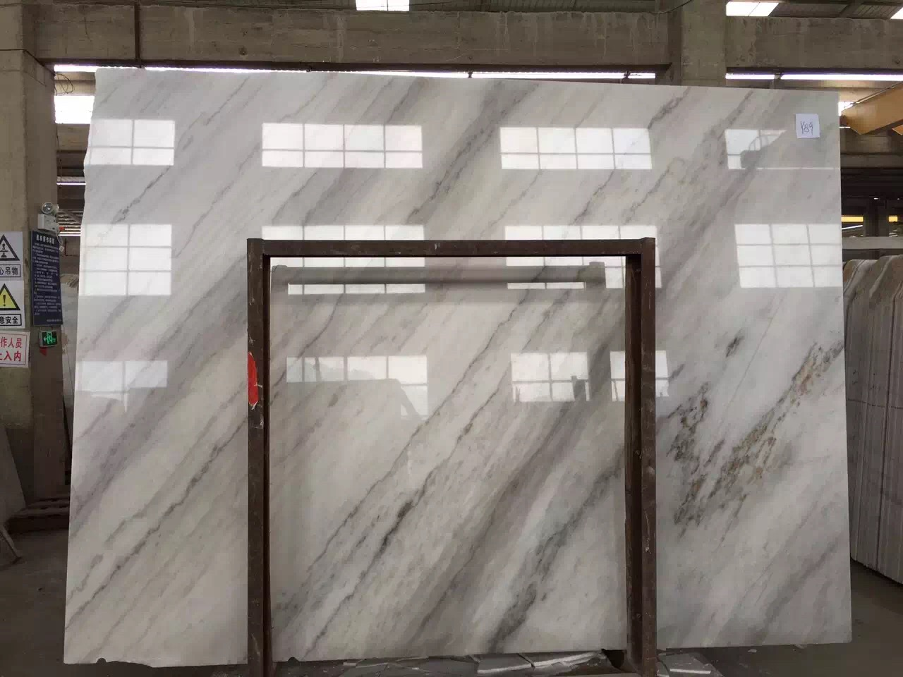Guangxi White Marble-Arabescato  (44)