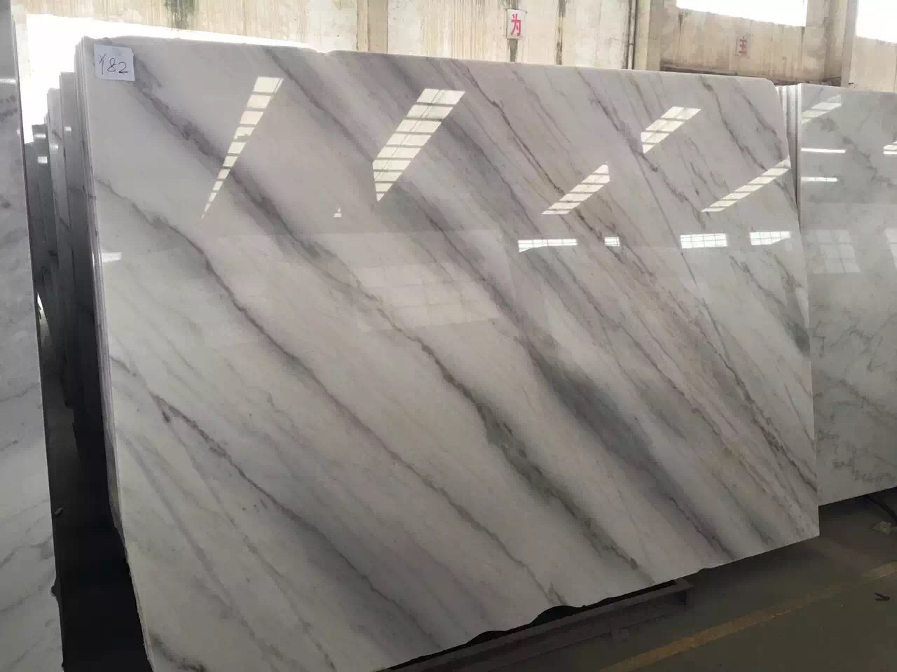 Guangxi White Marble-Arabescato  (45)