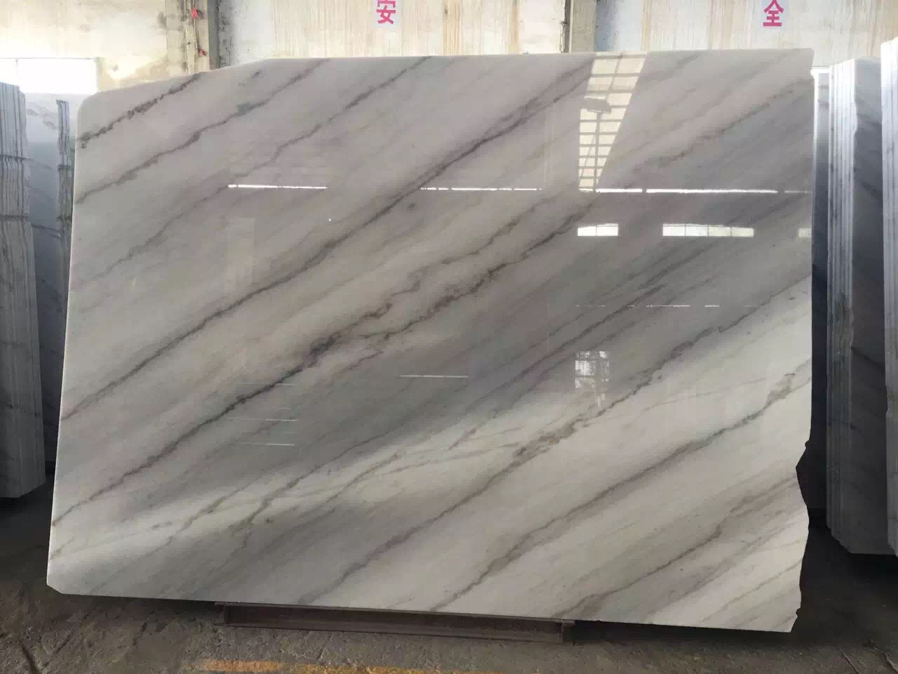 Guangxi White Marble-Arabescato  (47)