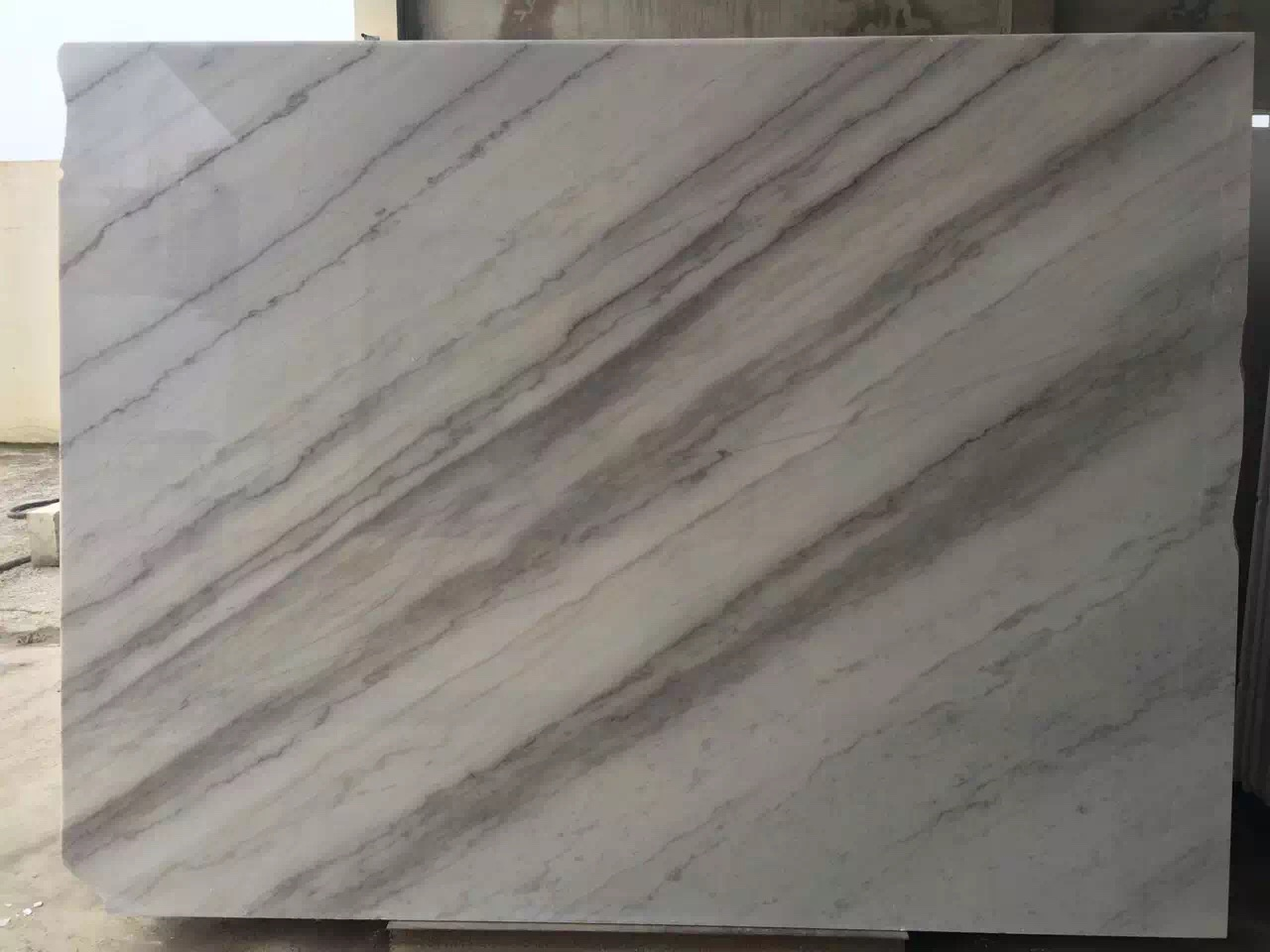 Guangxi White Marble-Arabescato  (49)