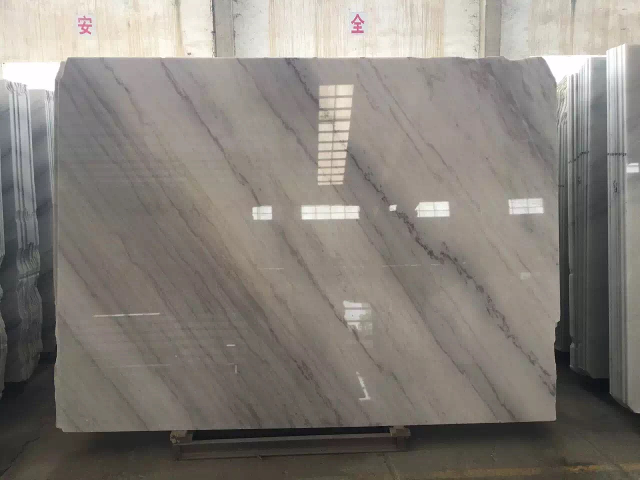 Guangxi White Marble-Arabescato  (50)