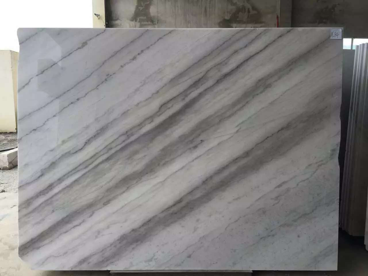 Guangxi White Marble-Arabescato  (56)