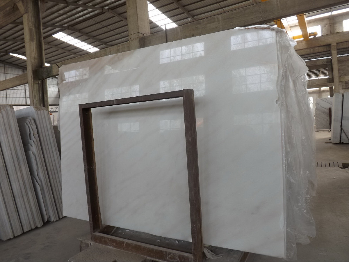 Guangxi White Marble-Arabescato  (57)