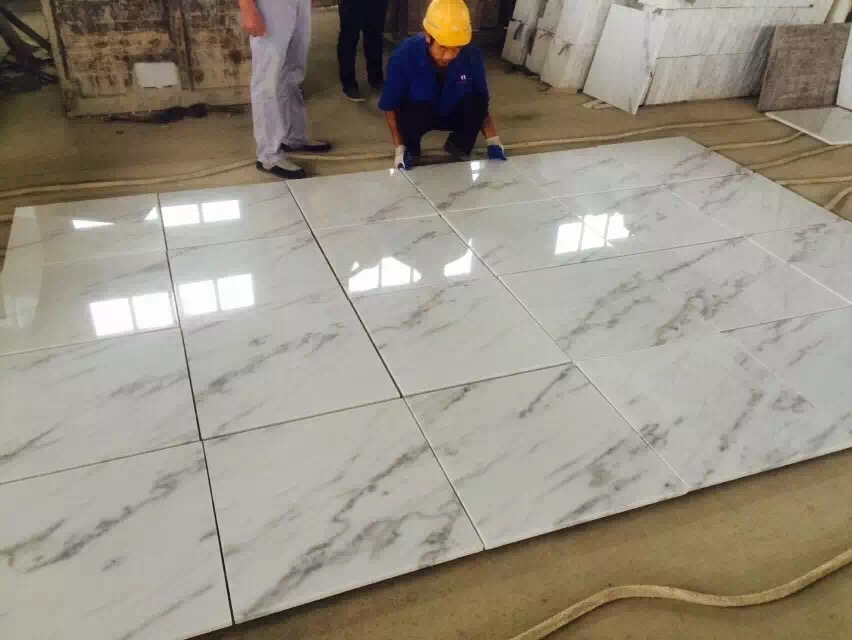 Guangxi White Marble Pre-Installation (16)