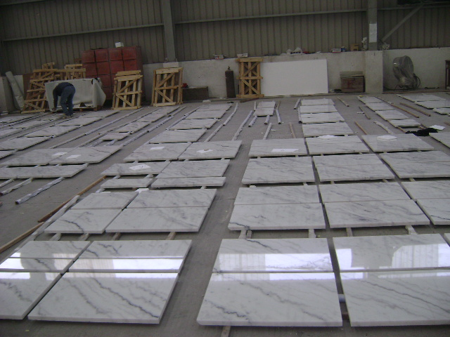 Guangxi White Marble Pre-Installation (20)
