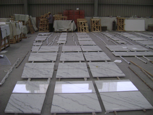 Guangxi White Marble Pre-Installation (21)