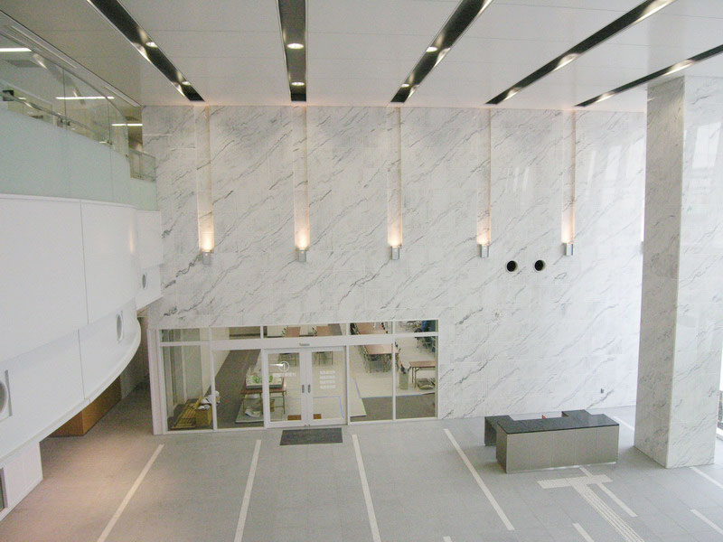 Guangxi White Marble Wall (Singapore)